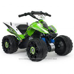 Электромобиль квадроцикл Quad Kawasaki AVT 12 V Injusa 66055
