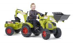 Трактор экскаватор CLASS Falk 1010Y оливковый