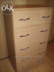 новый шкаф-комод  для детского гардероба. Большая палитра выбора цвета