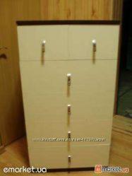 новый шкаф-комод для детского гардероба