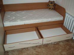 новая кровать 80180см сборка и доставка по Киеву  включена