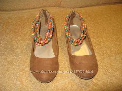 туфли Graceland 34 размер. кожа