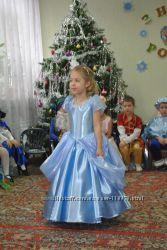 Карнавальное платье Золушки