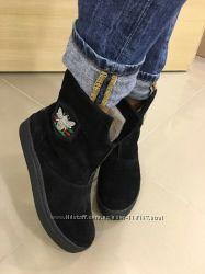 Женские зимние сапоги, ботинки, угги в стиле GUCCI