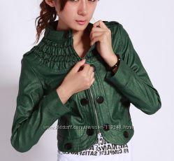 Крутая курточка кожзам.  В наличии