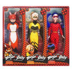 Набор кукол из мультфильма Леди Баг и Супер Кот 3 куклы