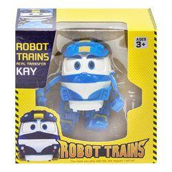 Трансформер Роботы поезда Robot Trains Kay, Alf, Victor, Selly, Duck
