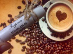 Натуральный бальзам для губ с маслом кофе Эспрессо