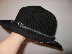 Вязанная шляпка ручной работы