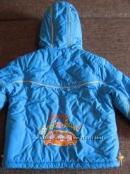 Зимний полукомбинезон с курткой  в отличном состоянии