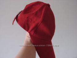Классная красная женская бейсболка