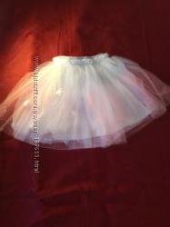 милая юбка-пачка пайетки р 128
