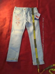 новые джинсы дев, р 116