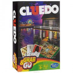 Клуэдо настольная игра дорожная версия, hasbro