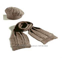 Yves Rocher - продам или обменяю комплект шапочка берет и шарф