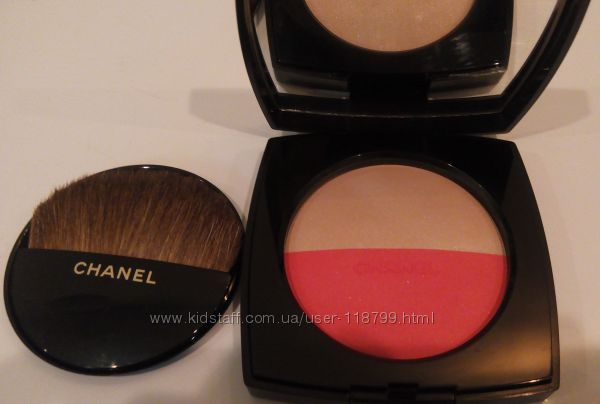 Продам Chanel Les Beiges Healthy Glow Multi-Color Duo No2 румяна-хайлайтер