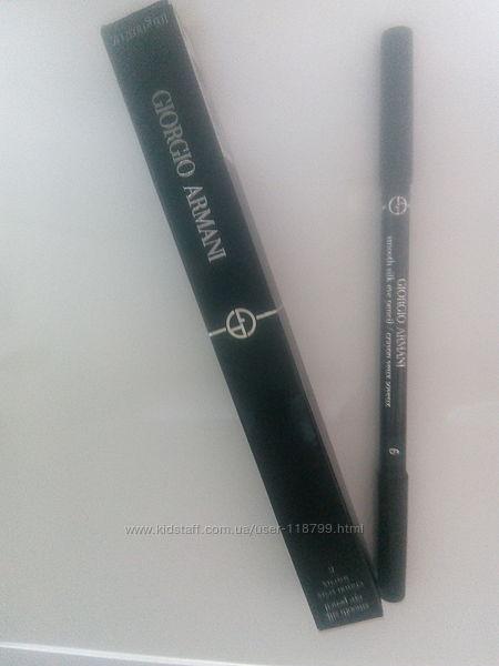 Карандаш для век Giorgio Armani Smooth Silk Eye Pencil зеленый матовый 06