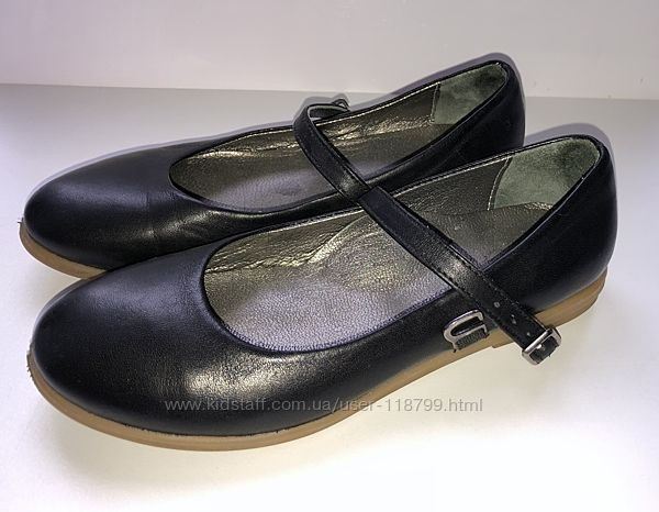 Туфли Woopy для девочки черные р-р 31, стелька 20-20,5 см