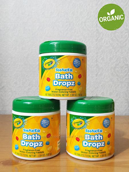 Цветные шипучие таблетки для купания Crayola Bath