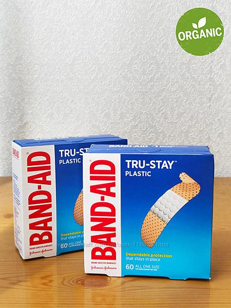Пластырь бактерицидный воздухопроницаемый, Band Aid, 60 шт