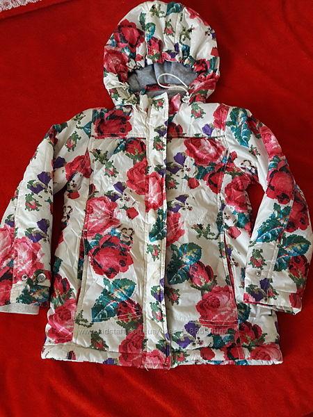 Деми куртка для девочки тм Sela