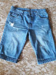 джинсовые шорты на 12-13 лет мальчику