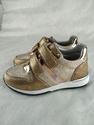 Золотистые кроссовки B&G c 26 по 31 размер