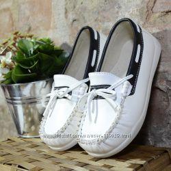 SALE туфли мокасины унисекс B&G р. 24 примерка обмен возврат