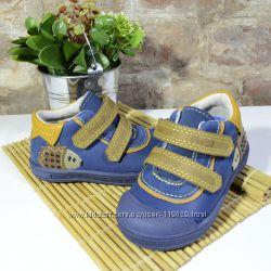 кожаные деми кроссовки на мальчика размер 22, 25 брендовые ddstep ддстеп