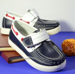 SALE кожаные туфли на мальчика B&G р. 26 примерка обмен возврат