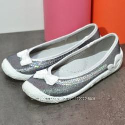 текстильные тапочки туфельки на девочку  р 31 33  3f 3ф Польша
