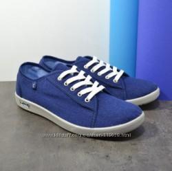 кеды мужские синие на шнурках р. 41, 46 бесплатная пересылка