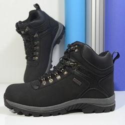 Бесплатная пересылка мужские ботинки Alpine Crown черные еврозимар. 41