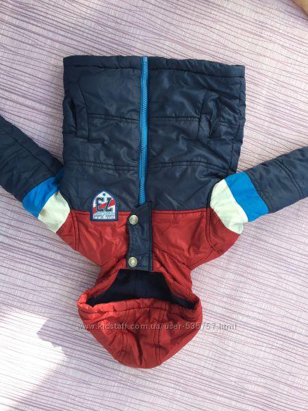 Rebel демисезонная куртка на флисе и синтепоне