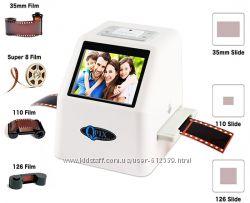 Слайд сканер фотопленки Qpix 35мм пленки, слайдов, негативов 22MP