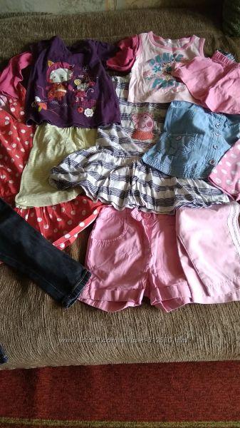 Пакетом одежда 1-2 года