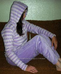 Пижама махровая с капюшоном Authentic