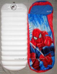 Надувная кровать с чехлом и одеялом Спайдермен Marvel