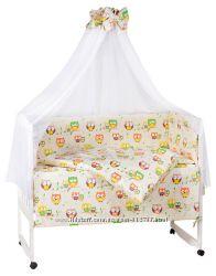 Комплекты детского постельного белья 9 предметов