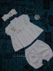 Одежда для крещения, крестильный набор для девочек Летний