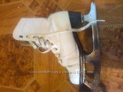 Продам детские коньки 23 -24 размер советские