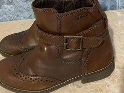 Ботинки кожаные Geox девочке