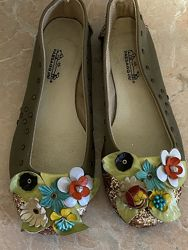Туфли балетки для школы