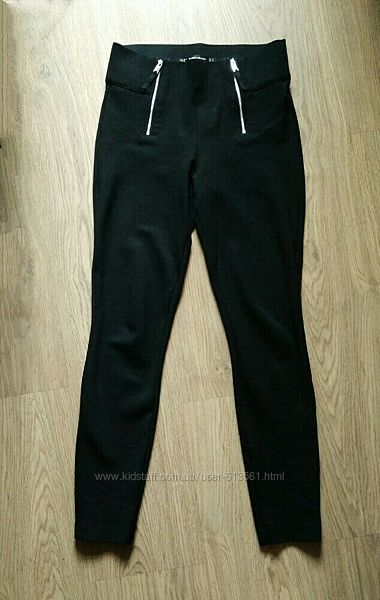 Zara trafaluc collection брюки штаны лосины леггинсы с завышенной талией