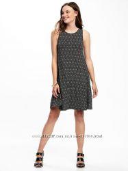 Платье летнее Old Navy р. XS новое, оливковое