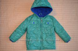 Тёплая деми курточка на мальчика 80-98см