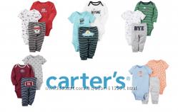 Комплекты-тройки для мальчиков Веселые попки Картерс 12 вариантов