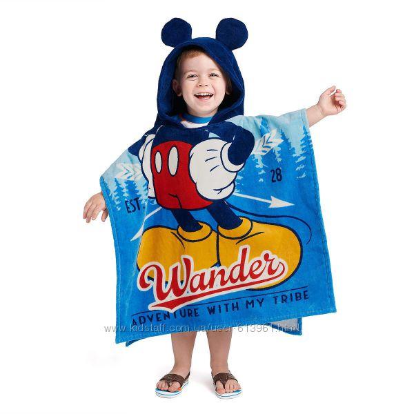 Пляжные полотенца пончо с капюшоном - Микки Маус Disney