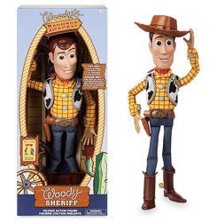 Интерактивная кукла Ковбой шериф Вуди История игрушек 4