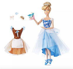 Классическая кукла принцесса Золушка балерина Cinderella Ballet Doll Disney